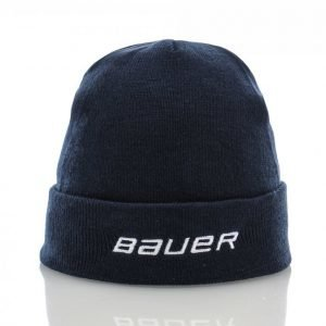 Bauer Team Cuffed Rib Knit Toque Pipo Sininen